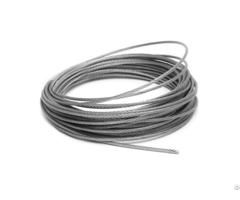 High Quality Galvanized Steel Cable Control Inner Wire 1x19s Diameter 2 0mm