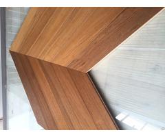 Multi Layer Teak Chevron Engineered Flooring