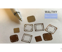 Micro Parts Subcontract Manufacturing—cutting Drilling Milling Engraving Selective Etching