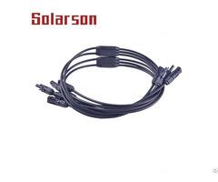 Mc4 Connector Solar Pv Ip67 Y Branch Adapter