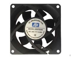 Jsl Factory Direct Supply Plastic Hot Sale Dc Axial Fan Ventilation 7025