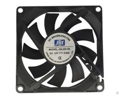Jsl Factory Direct Supply Plastic Hot Sale Dc Axial Fan Ventilation 8015