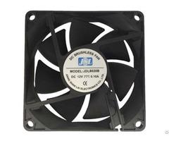 Jsl Factory Direct Supply Plastic Hot Sale Dc Axial Fan Industrial 8020