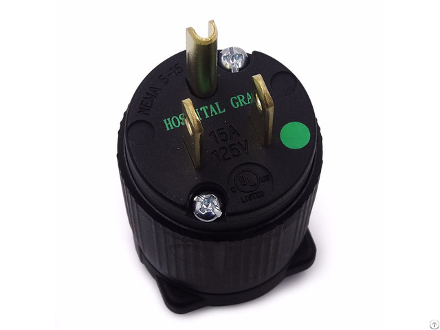 Nema 5 15 Electrical Straight Blade Plug Hospital Grade B515p