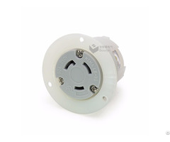 Nemal6 30 American Female Locking Flanged Outlet Power Receptacle 30a 250v Bl630fo