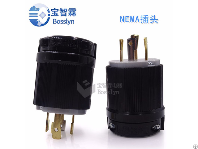 Nema L14 30 Us Male Twist Lock Locking Plug 30a 125v 250v Bl1430p