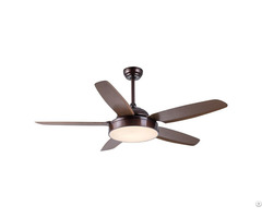 "52"" Abs Blade 220v Ceiling Fan Light"