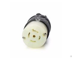 Nemal22 20 American Locking Rewirable Female Connector 20a 277 480v Bl2220c