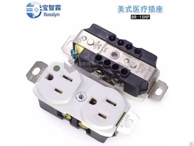 15a With Indicator Light American Sockets Medical Appliance Grade Br 15hp