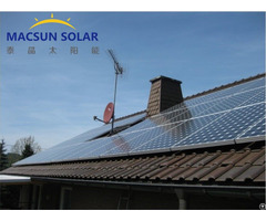 1kw 1mw Rooftop On Grid Solar Power System
