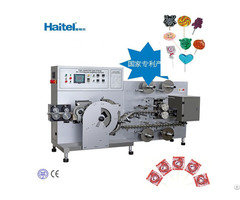 Flat Lollipop Making And Packing Machine Made In China