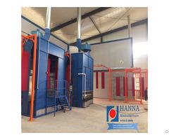 Metal Door Powder Coat Equipment Spraying Machinery Coating Line