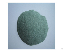 Acid Washing Green Carborundum Sand Of Complete Model