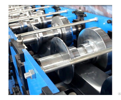 Subway Station Guard Panel Roll Forming Machine