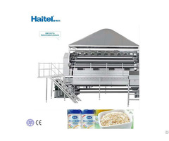 Best Quality And Price Full Automatic Nutrition Oat Flakes Baby Food Making Machine