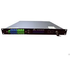 Built In Wdm 8ports Edfa High Power Optical Amplifier