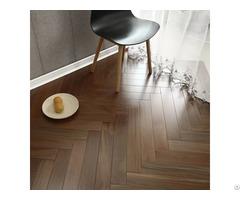 Walnut Herringbone Engineered Flooring