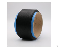 Conductive Carbon Inside Nylon Fiber Filaments 20d 3f Ring Cross Section For Anti Static Xtaa016