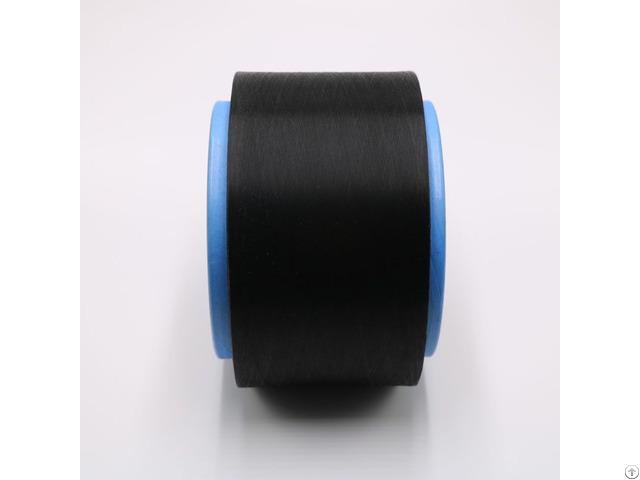 Black Carbon Inside Conductive Nylon Fiber Filaments 40d 6f For Anti Static Xtaa199