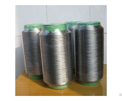 Pure Silver Plated Conductive Nylon Filaments 420d 64f Anti Bacteria Socks Xtaa064