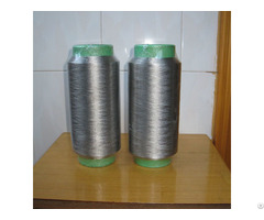 Pure Silver Plated Conductive Nylon Filaments 40d 12f Anti Bacteria Socks For Emr Fabrics Xtaa132