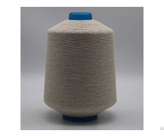 Carbon Conductive Fiber Nylon Filaments 20d 3f Wrap Ne7 1 Combed Cotton Anti Static Yarn Xtaa042