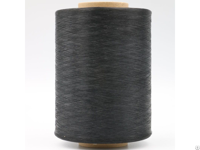 Carbon Conductive Nylon 20d 3f Intermingled With Black Polyester Fdy 75d Anti Static Yarn Xtaa028