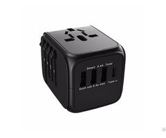 Type C Fast Charge 3 Usb Port Adapter Christmas Gift Travel Kit Uta 5