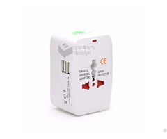 Universal With Dual Usb Port Adapter Christmas Gift Travel Kit Hd 931l D