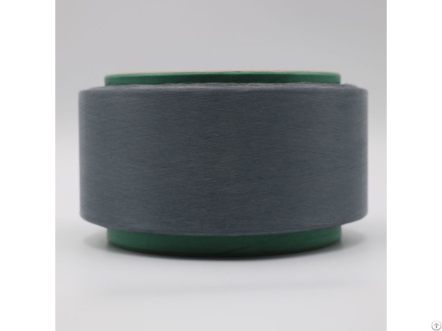 Conductive Carbon Inside Middle Grey Polyester Filaments Esd 20d 3f For Electronics Industry Xtaa193