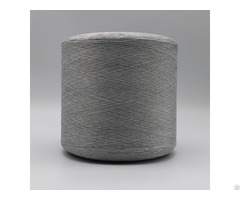 Carbon Conductive Fiber Nylon 20d 3f Ring Intermingling White Polyester Dty 150d Filament Xtaa033