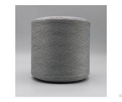 Carbon Conductive Fiber Nylon 20d 3f Ring Intermingling White Polyester Dty 150d Filament Xtaa033