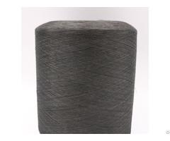 Carbon Conductive Fiber Nylon Filaments 20d 3f Intermingling Black Polyester Dty 75d Xtaa030