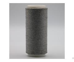 Carbon Conductive Fiber Nylon Filament 20d 3f Twist With 50d White Dty Polyester Xt11839