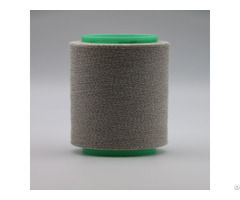 Ne32 1ply 92 Percent Carbon Conductive Polyester Staple Fiber Blended With 8 Percent Viscose Esd X