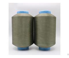 Copper Plated Cus Nylon 6 Dty Conductive Filaments 40d 12f Esd For Anti Bacteria Xt11854