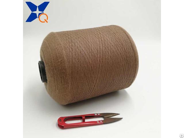 Ne16 1ply 5 Percent Stainless Steel Staple Fiber Blended 95 Percent Polyester For Knitting Touchsc