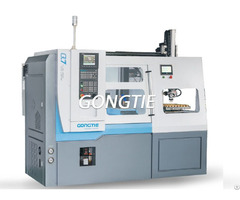 Cnc Lathe With Picking Woking Pieces