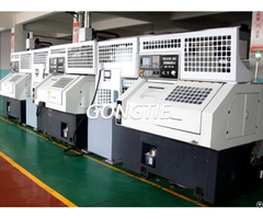 Double Lathes With Gantry Loader