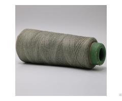 316l Stainless Steel Staple Fiber Blended 50 Percent Para Aramid For Flame Resistant High Tenacity