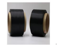 Carbon Conductive Polyester Fiber Filaments 20d 4f Trilobal Threeleaf Yarn Esd Fabric Xtaa239