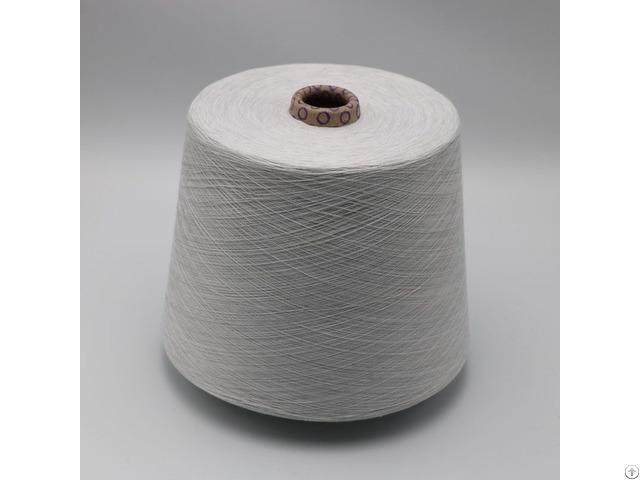Ne40 1ply 5% Stainless Steel Fiber Blend With 95% Polyester For Knitting Touchscreen Gloves Xtaa241