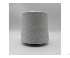 Ne36 1ply 10 Percent Stainless Steel Fiber Blend With 90 Percent Polyester For Knitting Touchscree