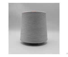 Ne36 1ply 10% Stainless Steel Fiber Blend With 90% Polyester For Knitting Touchscreen Gloves Xtaa240