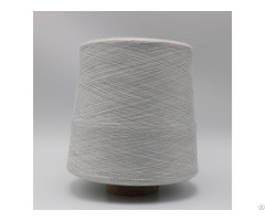 Grey Yarn Ne40 1ply 10% Stainless Steel Staple Fiber Blended With 90% Polyester Xtaa154