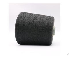 Ne16 2plies 10% Stainless Steel Staple Fiber Blended With 90% Polyester Xtaa114
