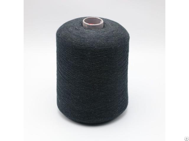 Ne21 2ply 10% Stainless Steel Fiber Blend With 90% Polyester For Knitting Touchscreen Gloves Xtaa092