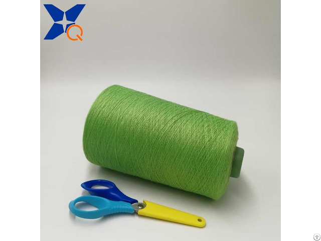 Ne21 2plies 10 Percent Metal Fiber 90 Percent Polyester Staple For Knitting Hand Feeling Touch Scr