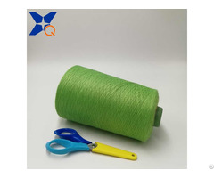 Ne21 2plies 10% Metal Fiber 90% Polyester Staple For Knitting Hand Feeling Touch Screen Xt11761