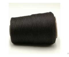 Carbon Inside Filaments 40d Intermingling With Black Polyester Dty Twist Bamboo Xt11490